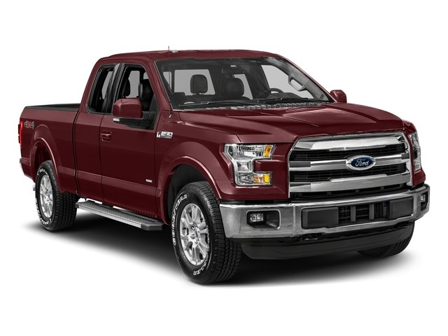 2017 Ford F-150 Prices and Values Supercab Lariat 4WD side front view