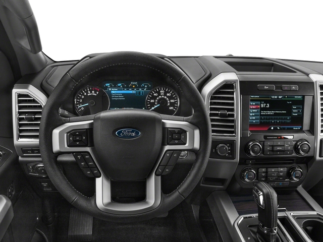 2017 Ford F-150 Prices and Values Supercab Lariat 4WD driver's dashboard