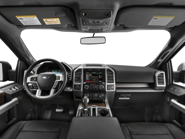 2017 Ford F-150 Prices and Values Supercab Lariat 4WD full dashboard