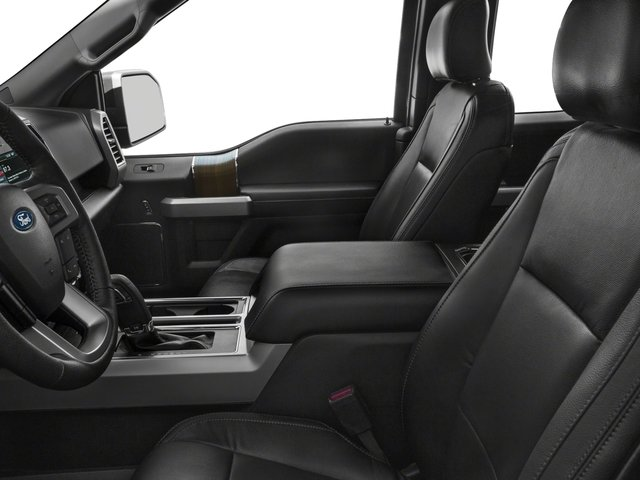 2017 Ford F-150 Prices and Values Supercab Lariat 4WD front seat interior