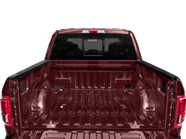 2017 Ford F-150 Prices and Values Supercab Lariat 4WD open trunk