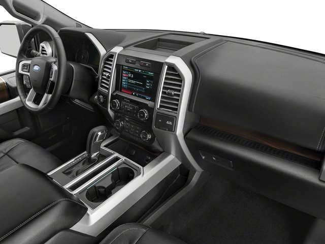 2017 Ford F-150 Prices and Values Supercab Lariat 4WD passenger's dashboard