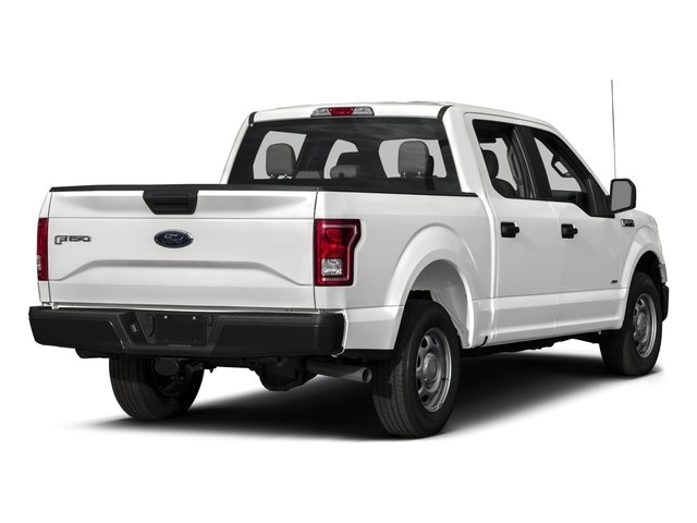 2017 Ford F-150 Pictures F-150 Crew Cab XL 2WD photos side rear view