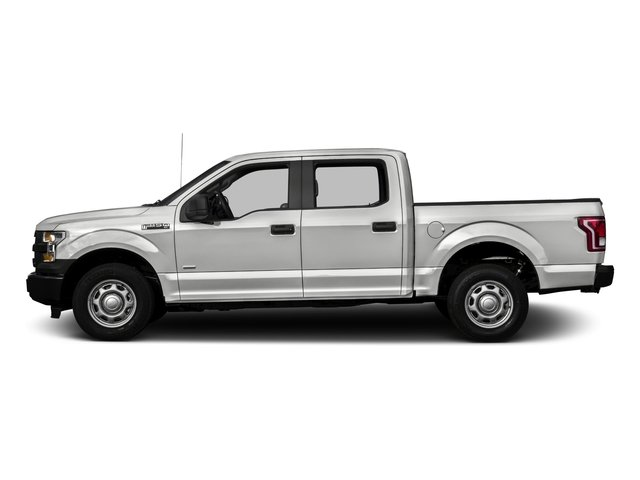 2017 Ford F-150 Pictures F-150 Crew Cab XL 2WD photos side view
