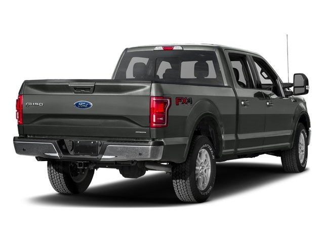2017 Ford F-150 Prices and Values Crew Cab Lariat 4WD side rear view