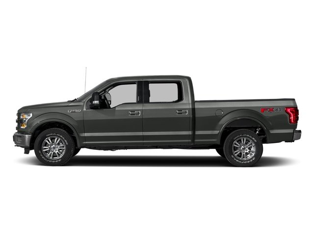 2017 Ford F-150 Prices and Values Crew Cab Lariat 4WD side view