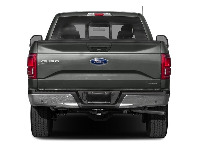 2017 Ford F-150 Prices and Values Crew Cab Lariat 4WD rear view