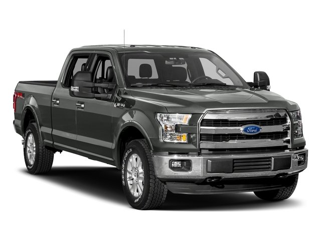 2017 Ford F-150 Prices and Values Crew Cab Lariat 4WD side front view