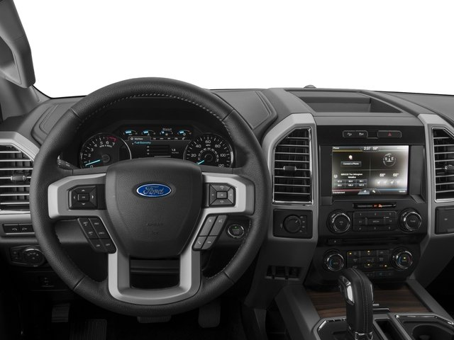 2017 Ford F-150 Prices and Values Crew Cab Lariat 4WD driver's dashboard