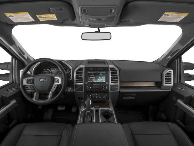 2017 Ford F-150 Prices and Values Crew Cab Lariat 4WD full dashboard