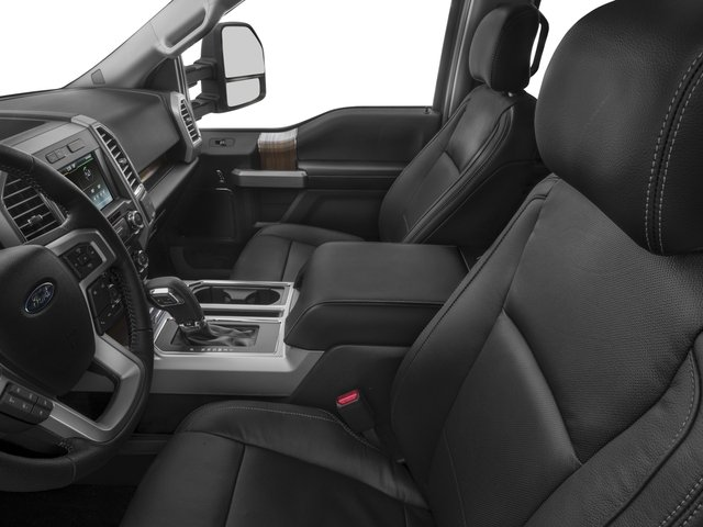 2017 Ford F-150 Prices and Values Crew Cab Lariat 4WD front seat interior