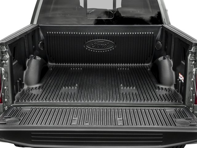 2017 Ford F-150 Prices and Values Crew Cab Lariat 4WD open trunk