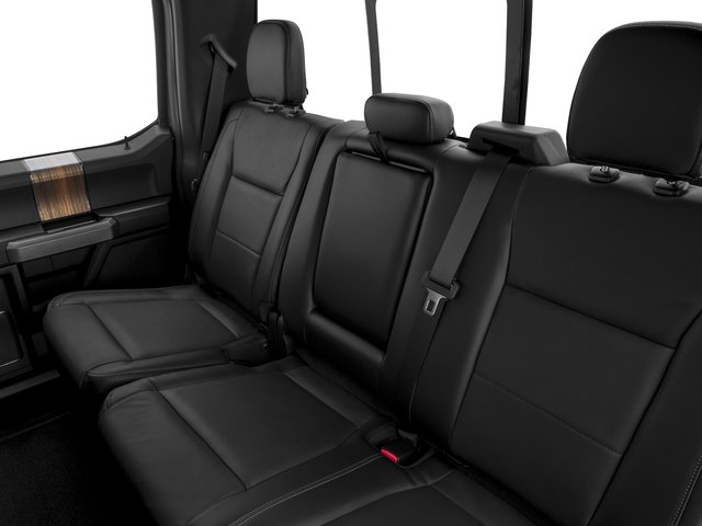 2017 Ford F-150 Prices and Values Crew Cab Lariat 4WD backseat interior