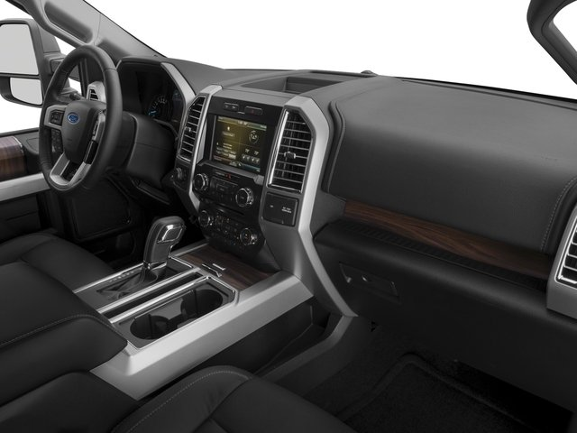 2017 Ford F-150 Prices and Values Crew Cab Lariat 4WD passenger's dashboard