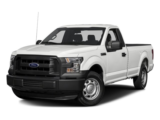 2017 Ford F-150 Pictures F-150 Regular Cab XL 4WD photos side front view