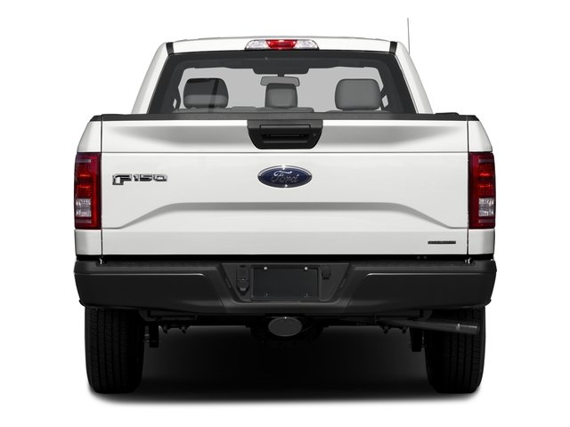 2017 Ford F-150 Prices and Values Regular Cab XL 2WD rear view