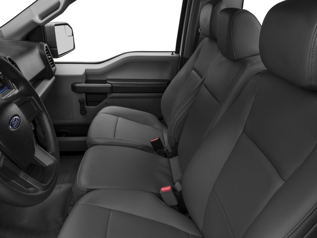 2017 Ford F-150 Pictures F-150 Regular Cab XL 4WD photos front seat interior