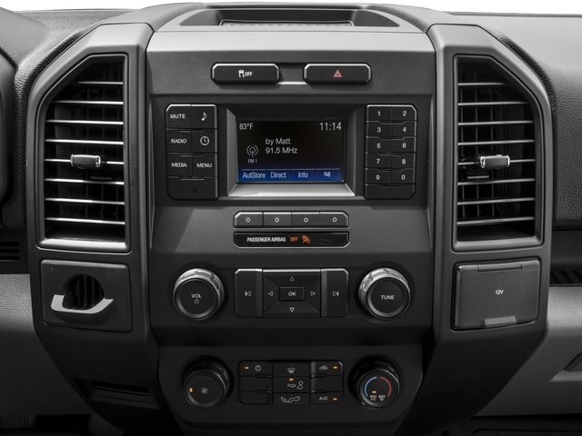 2017 Ford F-150 Prices and Values Regular Cab XL 2WD stereo system