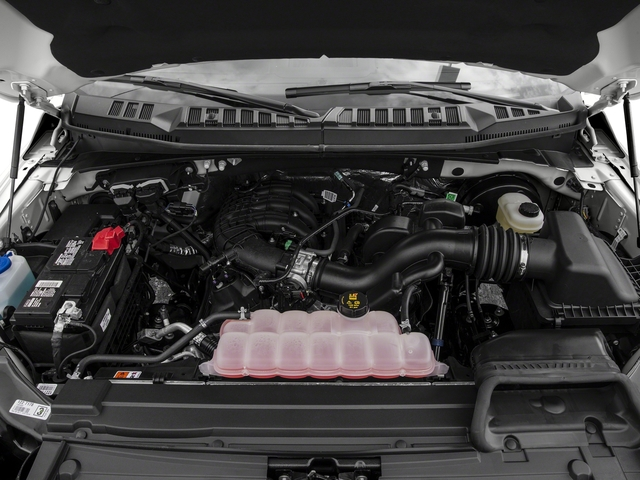 2017 Ford F-150 Pictures F-150 Regular Cab XL 4WD photos engine