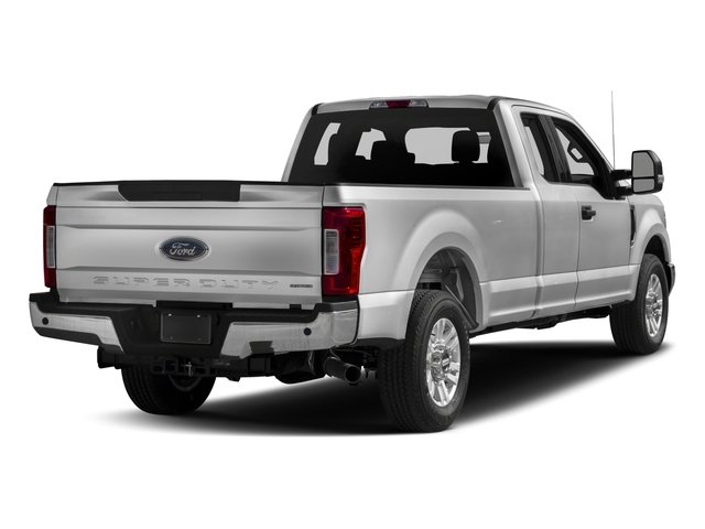 2017 Ford Super Duty F-350 SRW Prices and Values Supercab XLT 4WD side rear view