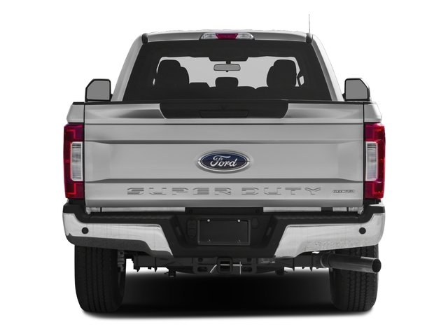 2017 Ford Super Duty F-350 SRW Prices and Values Supercab XLT 2WD rear view