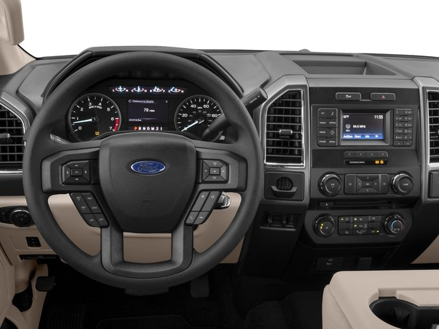 2017 Ford Super Duty F-350 SRW Prices and Values Supercab XLT 2WD driver's dashboard
