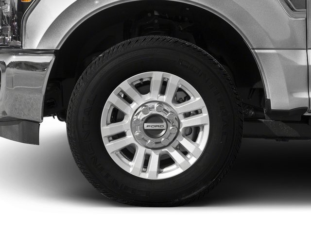 2017 Ford Super Duty F-350 SRW Prices and Values Supercab XLT 4WD wheel