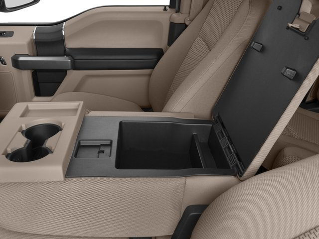 2017 Ford Super Duty F-350 SRW Prices and Values Supercab XLT 2WD center storage console