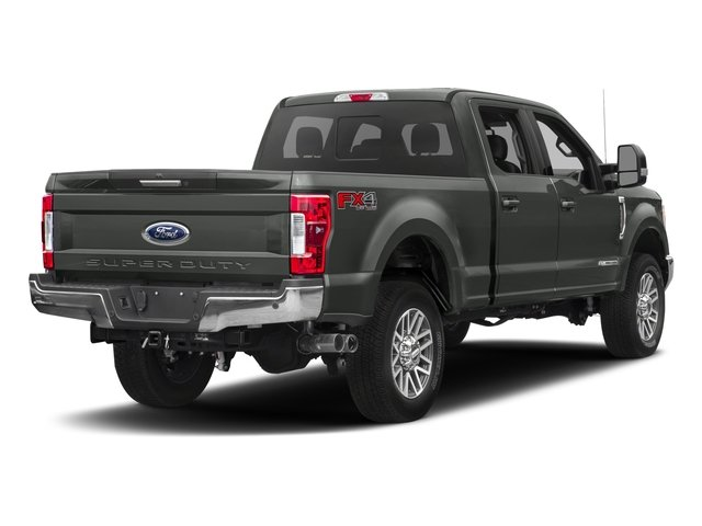 2017 Ford Super Duty F-350 SRW Prices and Values Crew Cab Lariat 4WD side rear view