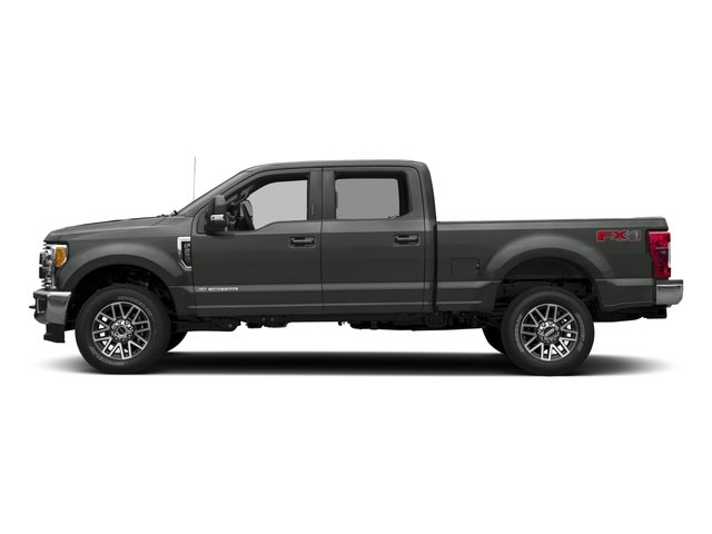 2017 Ford Super Duty F-350 SRW Prices and Values Crew Cab Lariat 4WD side view