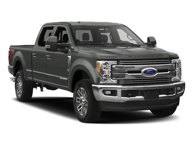 2017 Ford Super Duty F-350 SRW Prices and Values Crew Cab Lariat 4WD side front view