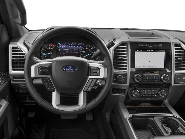 2017 Ford Super Duty F-350 SRW Prices and Values Crew Cab Lariat 4WD driver's dashboard