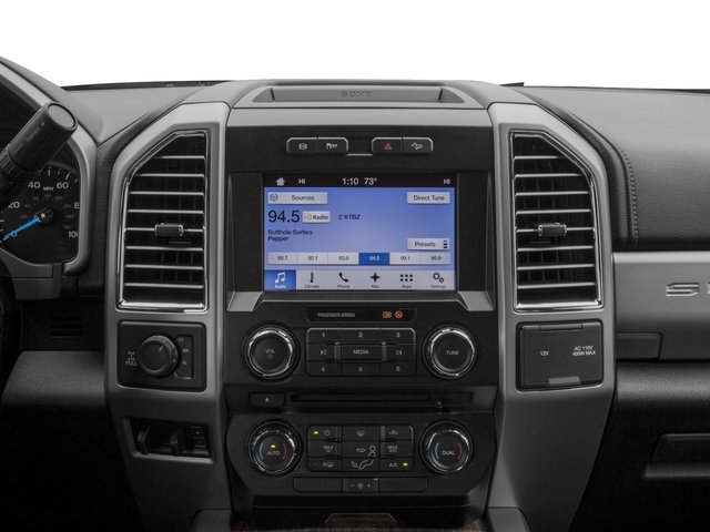 2017 Ford Super Duty F-350 SRW Prices and Values Crew Cab Lariat 4WD stereo system