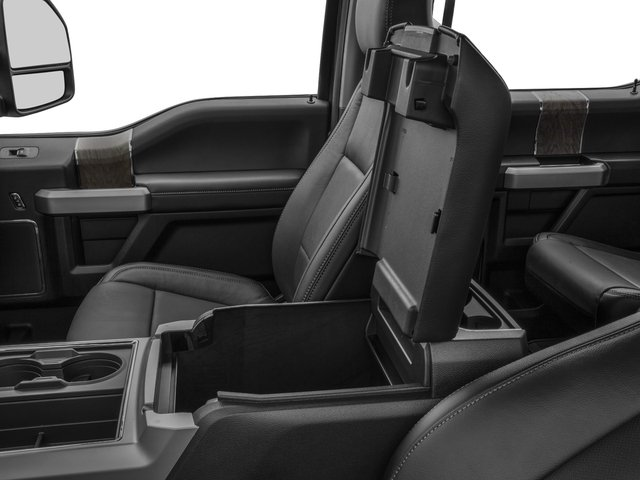 2017 Ford Super Duty F-350 SRW Prices and Values Crew Cab Lariat 4WD center storage console