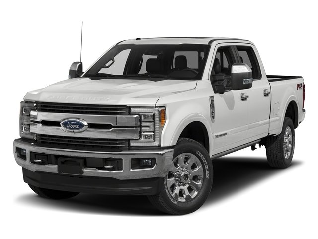 2017 Ford Super Duty F-350 SRW Prices and Values Crew Cab King Ranch 4WD