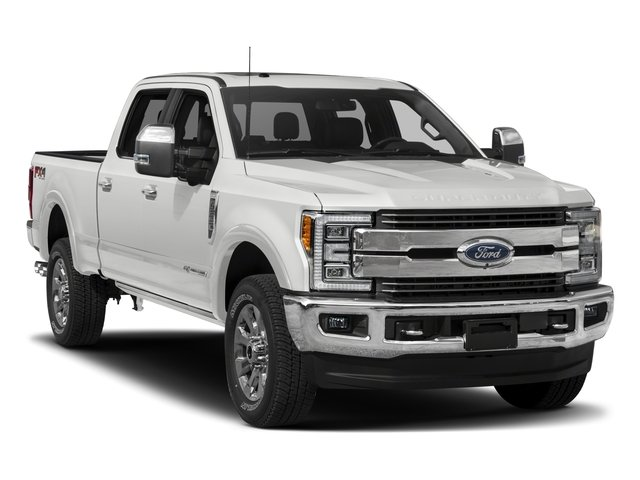 2017 Ford Super Duty F-350 SRW Prices and Values Crew Cab King Ranch 4WD side front view