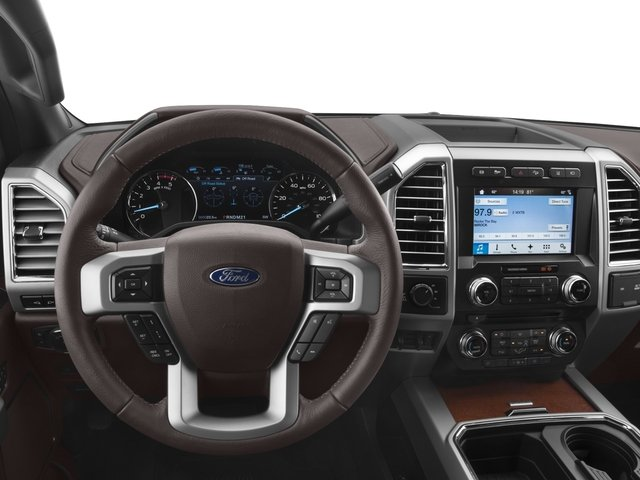 2017 Ford Super Duty F-350 SRW Prices and Values Crew Cab King Ranch 4WD driver's dashboard