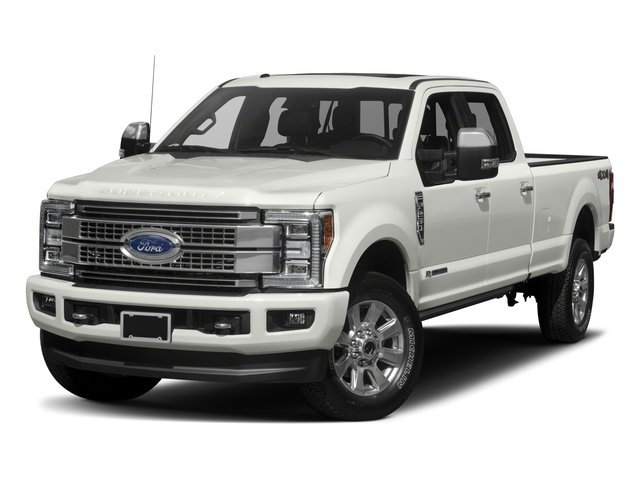 2017 Ford Super Duty F-350 SRW Prices and Values Crew Cab Platinum 4WD