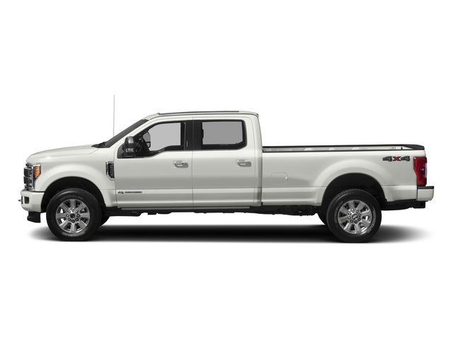 2017 Ford Super Duty F-350 SRW Prices and Values Crew Cab Platinum 4WD side view