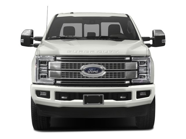 2017 Ford Super Duty F-350 SRW Prices and Values Crew Cab Platinum 4WD front view