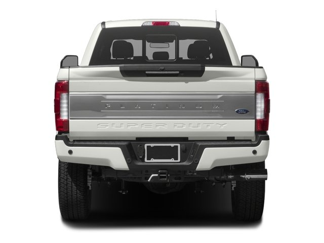 2017 Ford Super Duty F-350 SRW Prices and Values Crew Cab Platinum 4WD rear view