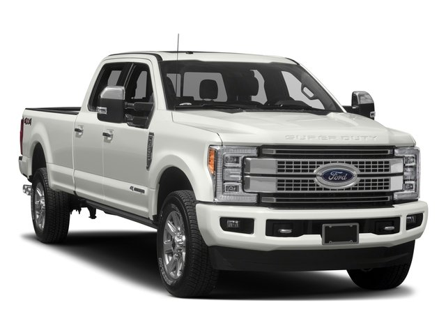 2017 Ford Super Duty F-350 SRW Prices and Values Crew Cab Platinum 4WD side front view
