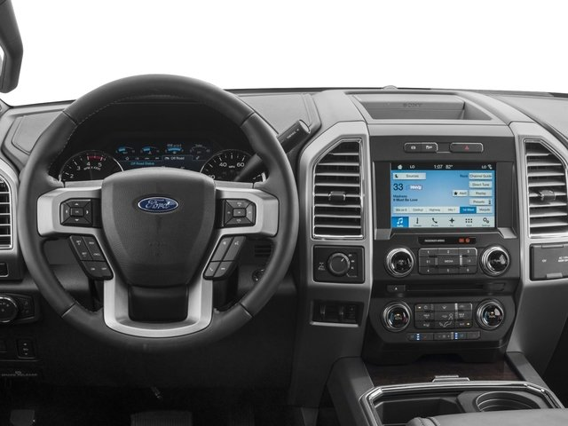 2017 Ford Super Duty F-350 SRW Prices and Values Crew Cab Platinum 4WD driver's dashboard