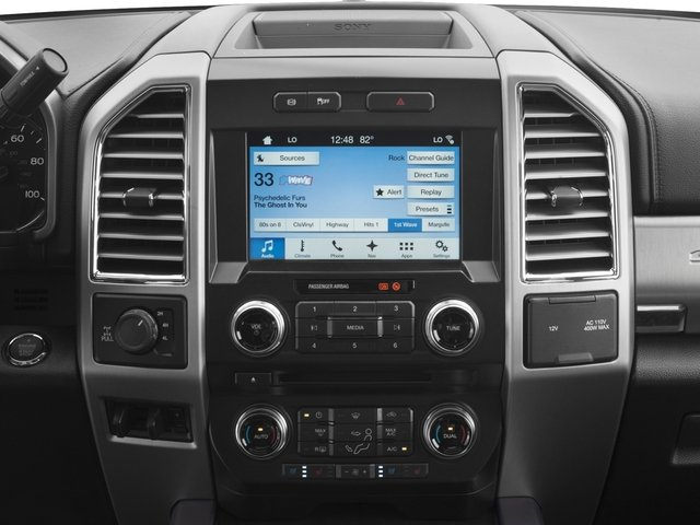 2017 Ford Super Duty F-350 SRW Prices and Values Crew Cab Platinum 4WD stereo system