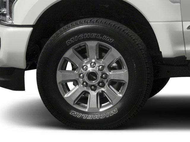 2017 Ford Super Duty F-350 SRW Prices and Values Crew Cab Platinum 4WD wheel