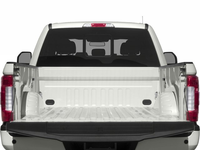 2017 Ford Super Duty F-350 SRW Prices and Values Crew Cab Platinum 4WD open trunk