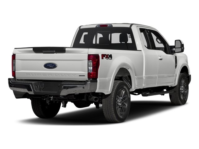 2017 Ford Super Duty F-350 SRW Prices and Values Supercab Lariat 2WD side rear view