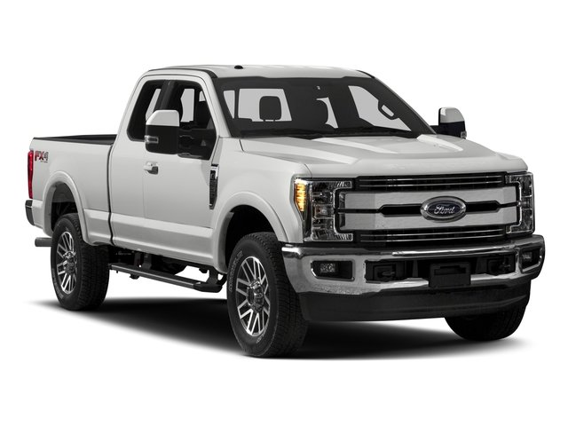2017 Ford Super Duty F-250 SRW Prices and Values Supercab Lariat 4WD side front view