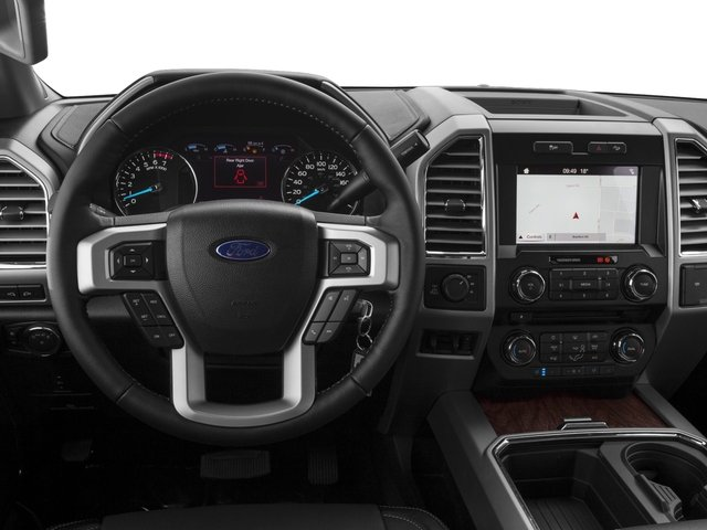 2017 Ford Super Duty F-350 SRW Prices and Values Supercab Lariat 2WD driver's dashboard