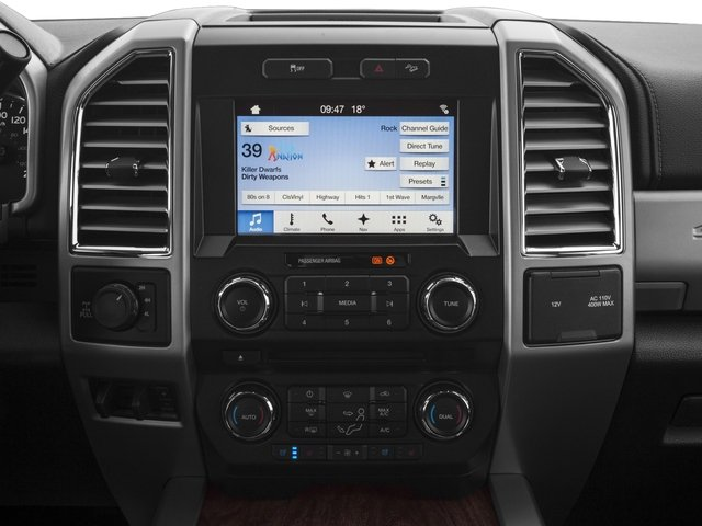 2017 Ford Super Duty F-350 SRW Prices and Values Supercab Lariat 2WD stereo system
